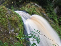 Black forest, Germany. The Triberg waterfalls Royalty Free Stock Image