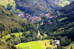 Black forest, Germany. View of Black Forest (Schwarzwald) at summer, Germany Stock Image