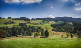 Black Forest landscape in Germany region Royalty Free Stock Photography