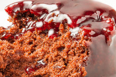 Black Forest Sponge Royalty Free Stock Photography