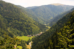 Black forest valley Royalty Free Stock Photos