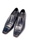 Black formal shoes Royalty Free Stock Photo