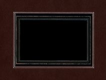 Black frame. Royalty Free Stock Image