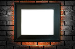 Black frame Royalty Free Stock Photography