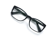 Black frame eyeglasses Royalty Free Stock Photos