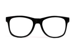Black frame glasses royalty free stock photos