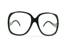 Black frame glasses Royalty Free Stock Image