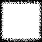Black frame Illustration. Royalty Free Stock Images