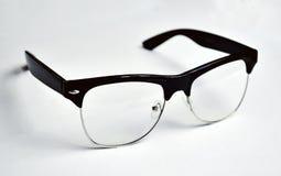 Black Framed Clubmaster Style Eyeglasses Stock Photos