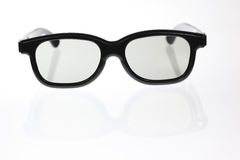 Black Framed Glasses Royalty Free Stock Photography