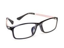Black-framed glasses. Stock Photo