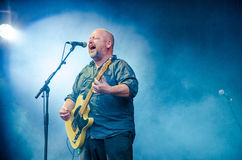 Black Francis of Pixies Royalty Free Stock Photo