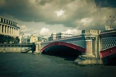 Black Friars Bridge London Stock Photo