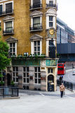 Black Friars. A corner pub called Black Friars in London Stock Photography