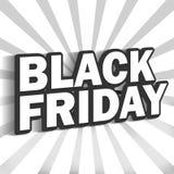 Black Friday royalty-vrije illustratie