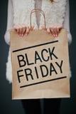 Black Friday-aankoop royalty-vrije stock foto's