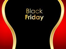 Black Friday abstract background Stock Photos