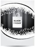 Black friday advertising shopping bag theme Stock Photos