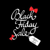 Black Friday-affichevector Stock Afbeelding