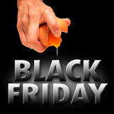 Black friday. America background banner Royalty Free Stock Photography