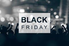 Black Friday announcement Stock Photos