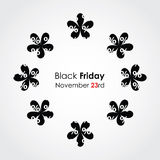 Black friday background Royalty Free Stock Photo