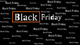 Black Friday background Stock Images