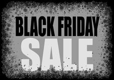 Black friday background. Royalty Free Stock Photos