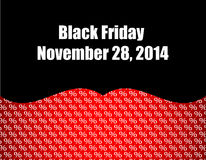 Black friday background Royalty Free Stock Image