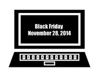 Black friday background Stock Photography