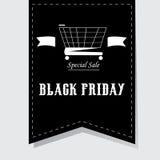 Black friday background Royalty Free Stock Image