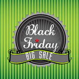 Black Friday badge Royalty Free Stock Images