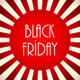 Black friday banner Stock Photography