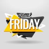 Black Friday Banner Stock Image