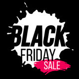 Black Friday banner Royalty Free Stock Photo