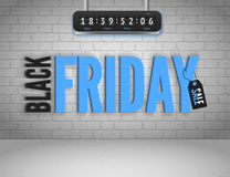 Black Friday banner Stock Images