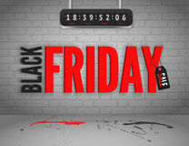 Black Friday banner Royalty Free Stock Image