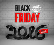 Black Friday banner Royalty Free Stock Image