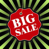 Black friday Big sale badge. Vector illustration. Stock Photo