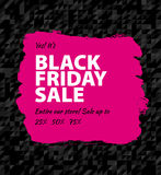 Black friday big sale Royalty Free Stock Image