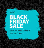 Black friday big sale Royalty Free Stock Photo