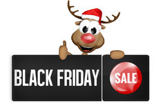 Black Friday Black Button Royalty Free Stock Photo