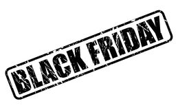 Black friday black stamp text Royalty Free Stock Photos