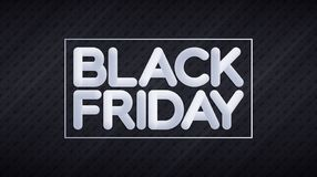 Black Friday blended lettering over discount price tags pattern royalty free illustration