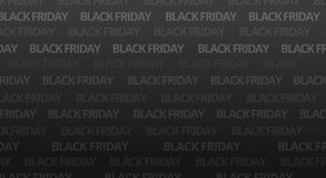 Black friday bold font background. Graphic stock photo