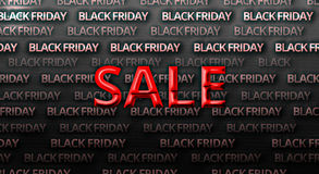 Black friday bold font background Stock Photo