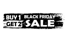 Black friday buy one get two Stock Image
