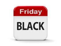 Black Friday Calendar Stock Image