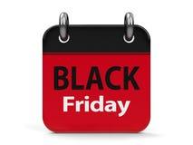 Black Friday Calendar  2 Stock Image