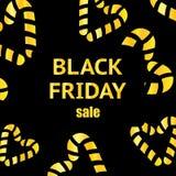Black Friday Calligraphic designer Affisch Sale också vektor för coreldrawillustration stock illustrationer